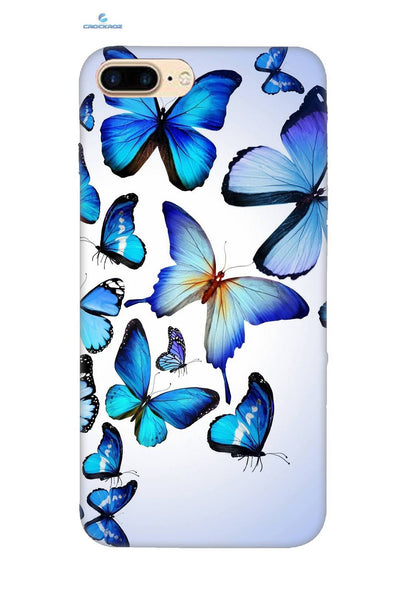iPhone8 Plus Butterflies Designed Back Cover
