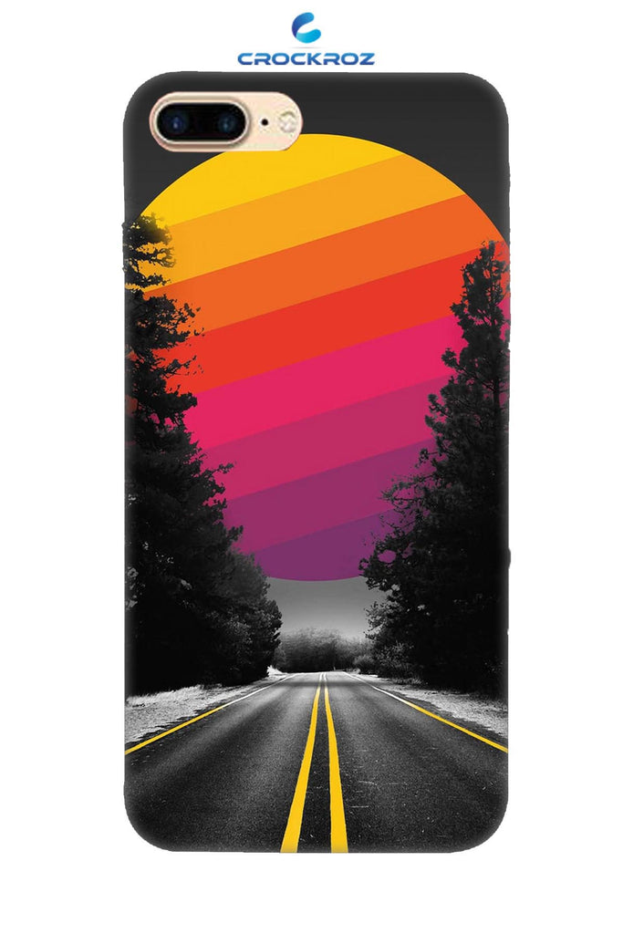 iPhone8 Plus Lonely roads Designed Back Cover