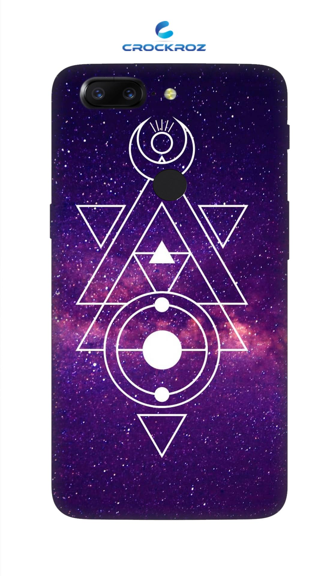 One Plus 5T Triangular Designed Back Cover