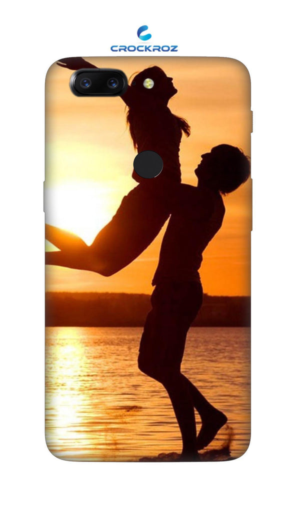 One Plus 5T Love symbol Designed Back Cover