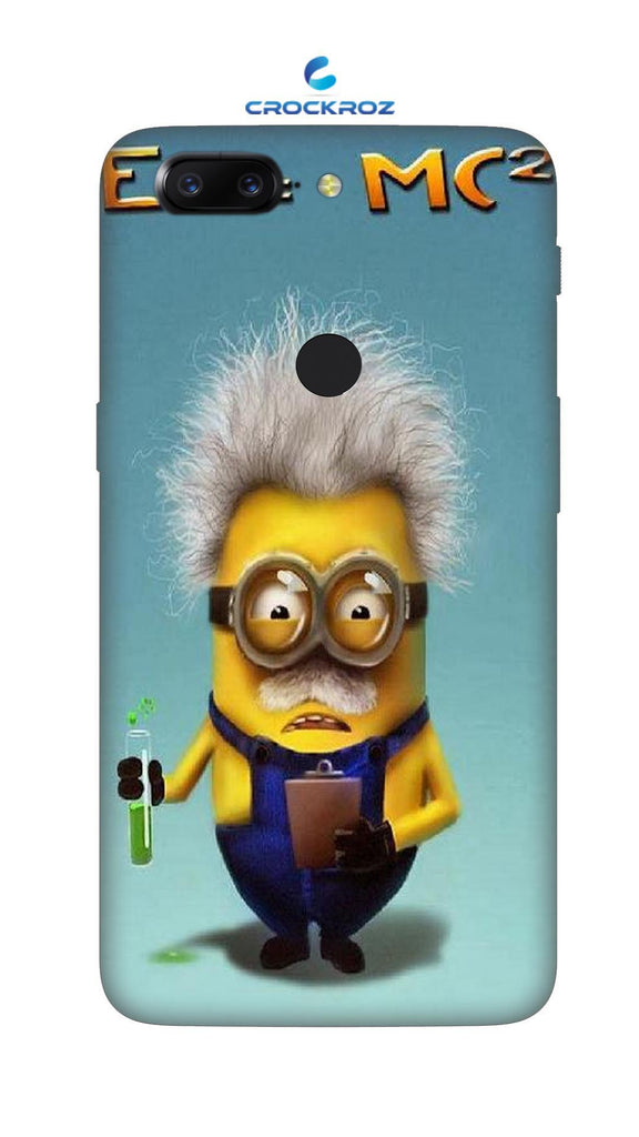 One Plus 5T minions Designed Back Cover
