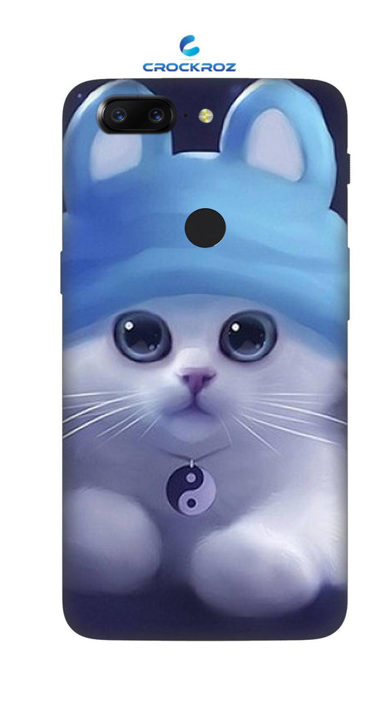 One Plus 5T cutie  cats Designed Back Cover