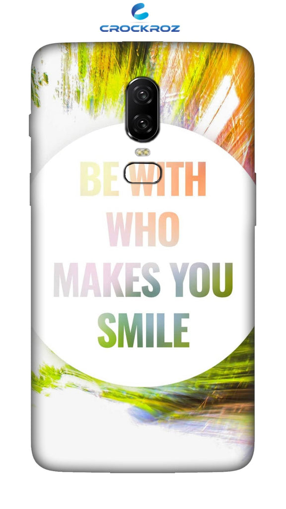 OnePlus 6 Smile Designed Back Cover