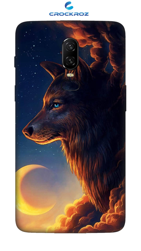 OnePlus 6 Wolf Designed Back Cover