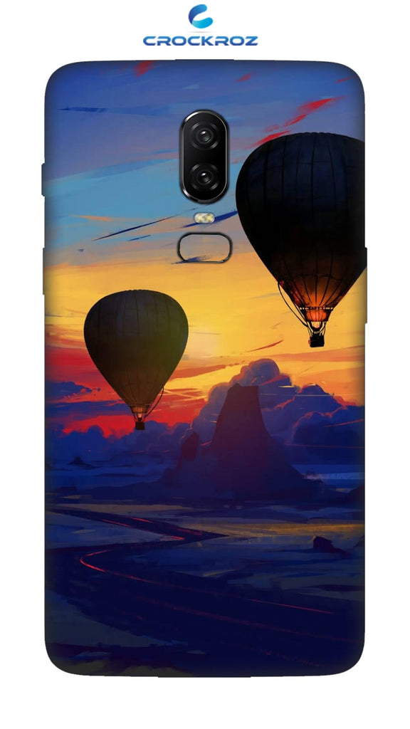 One Plus 6 Parachute Designed Back Cover