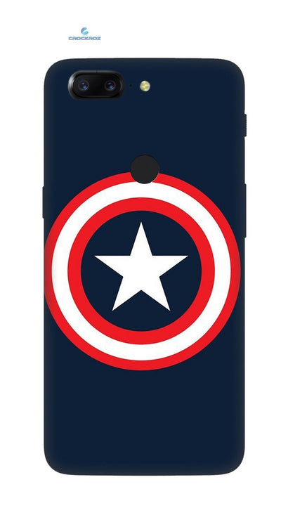 One Plus 5T Centred star  Designed Back Cover