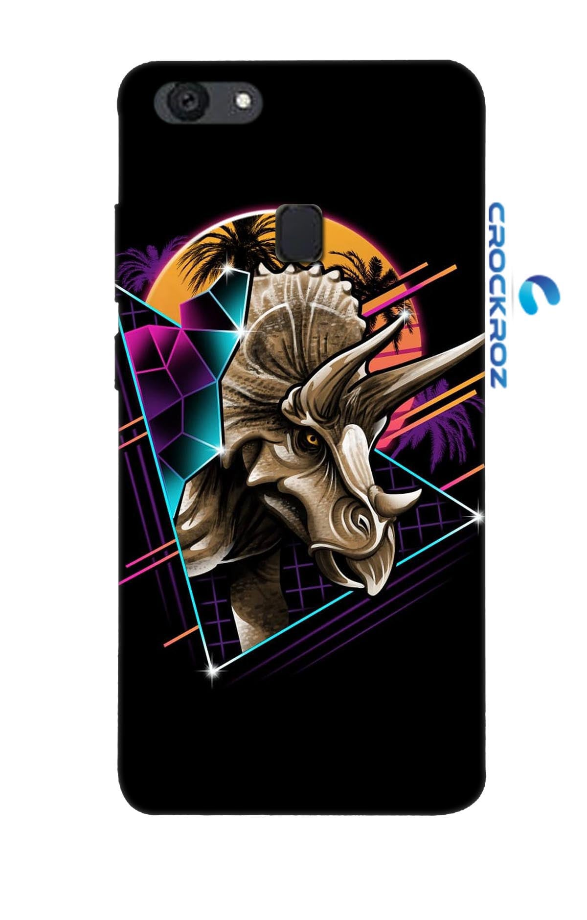 Oppo F5 Hungry Beast Designed Back Cover