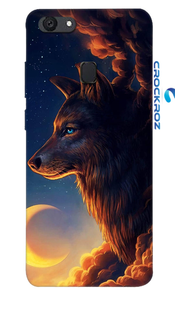 Oppo F5 Wolf Designed Back Cover