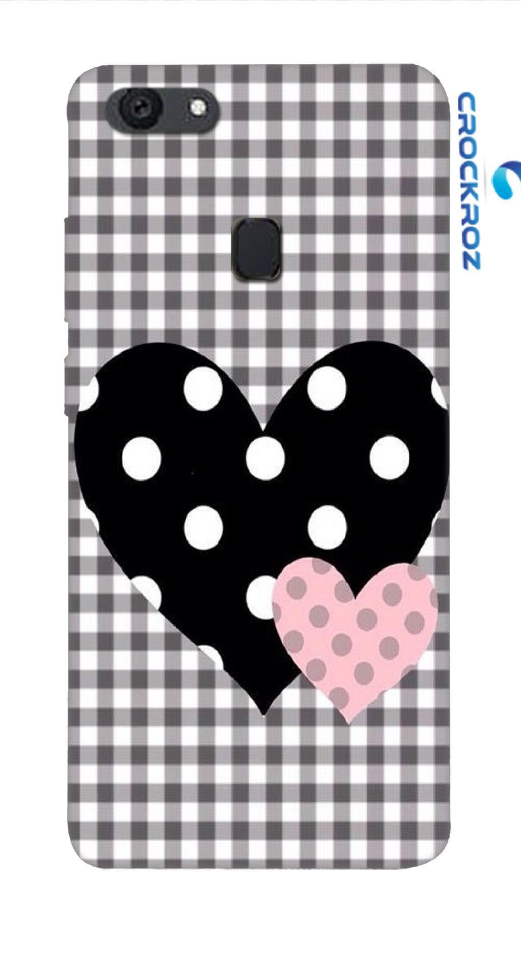 Oppo F5 heart to heart Designed Back Cover