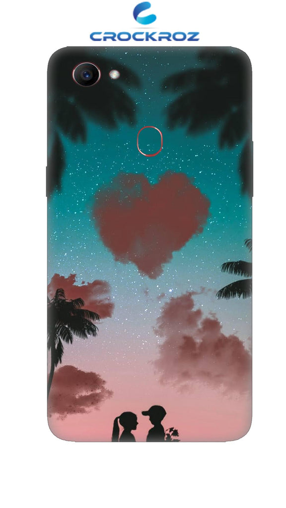 Oppo F7 Friend cum love Designed Back Cover