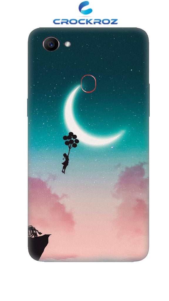 Oppo F7 Moony dreams Designed Back Cover