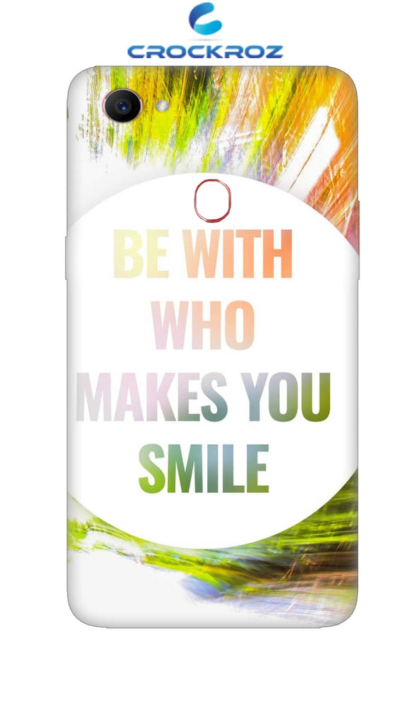 Oppo F7  Smile Designed Back Cover