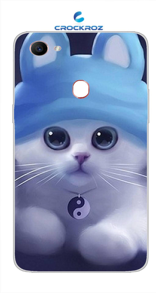 Oppo F7 cutie  cats Designed Back Cover