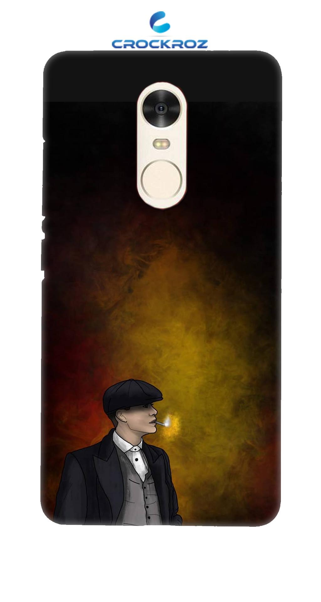 Redmi Note 4 Detective Designed Back Cover