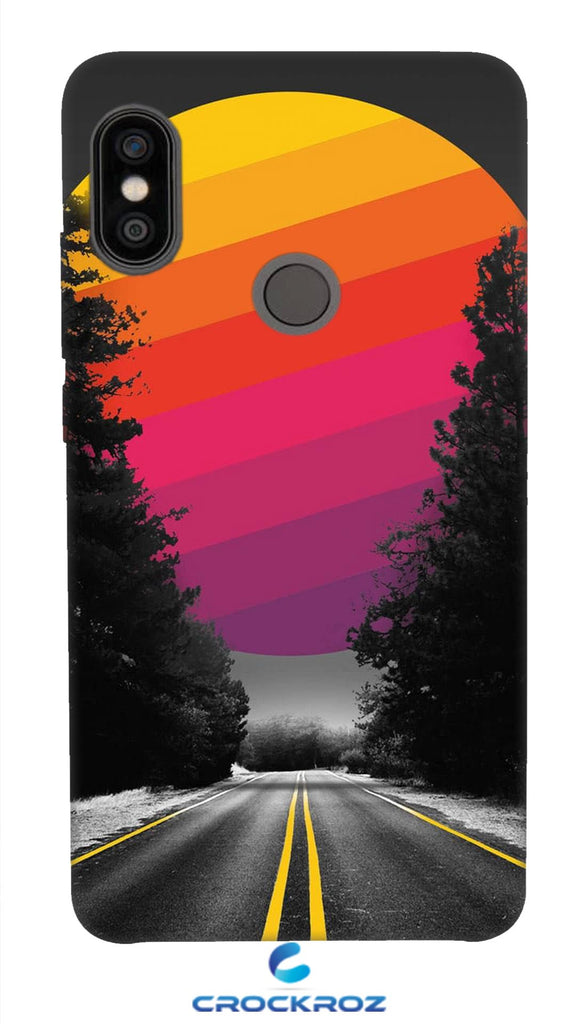 Redmi Note 5 Pro Lonely roads Designed Back Cover
