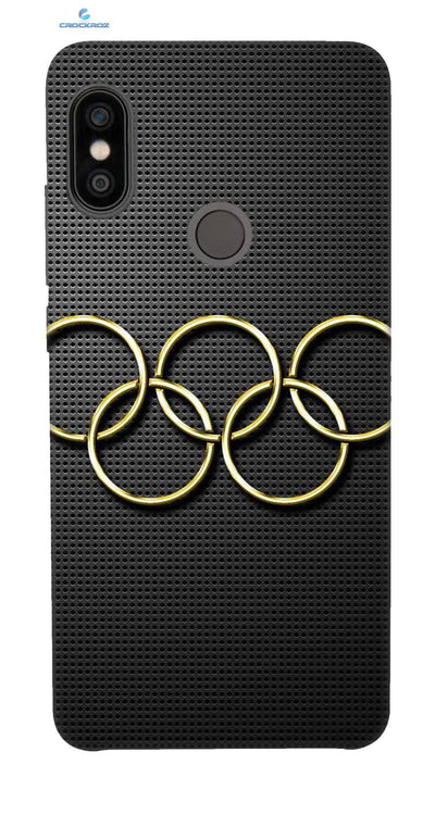 Redmi Note 5 Pro Olympic circles Designed Back Cover