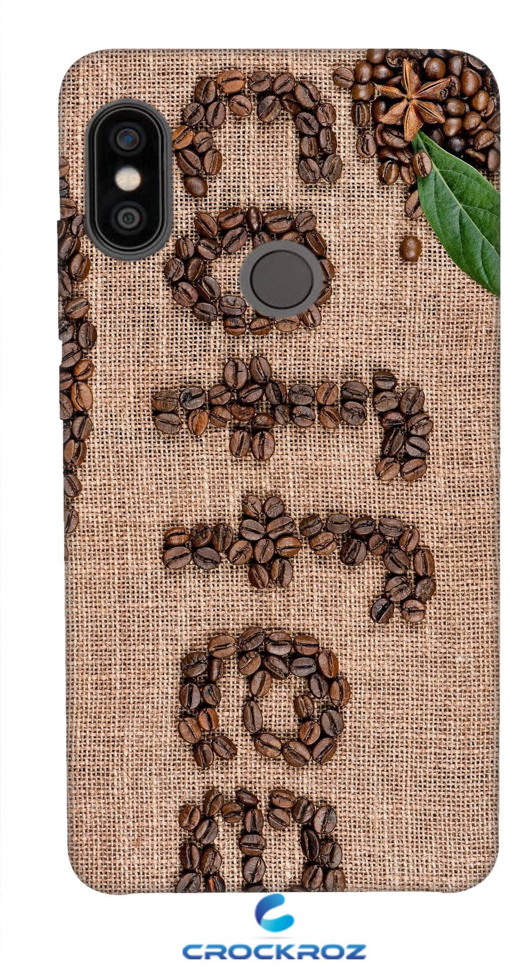 Redmi Note 5 Pro Coffe love Designed Back Cover
