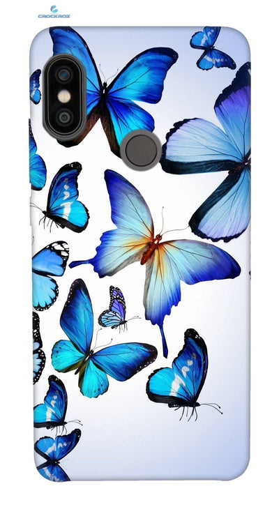 Redmi Note 5 Pro Butterflies Designed Back Cover