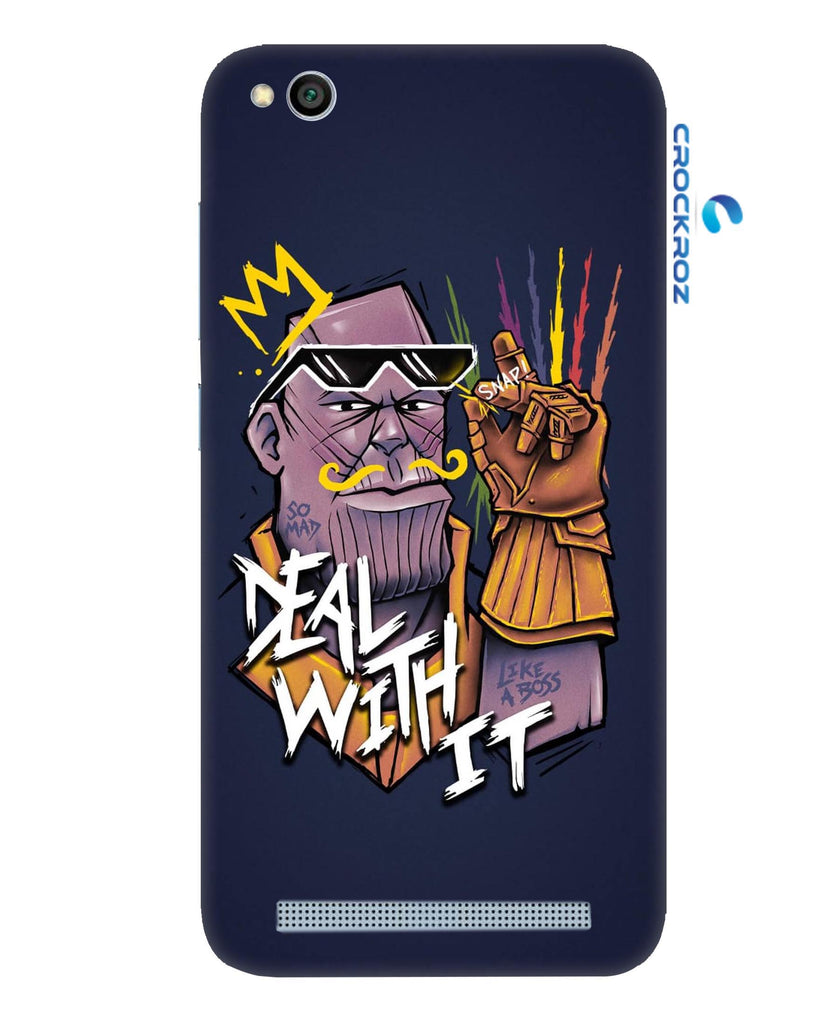 Redmi 5A Angry man Designed Back Cover