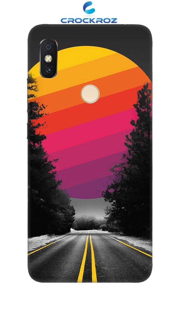 Redmi Y2 Lonely roads Designed Back Cover