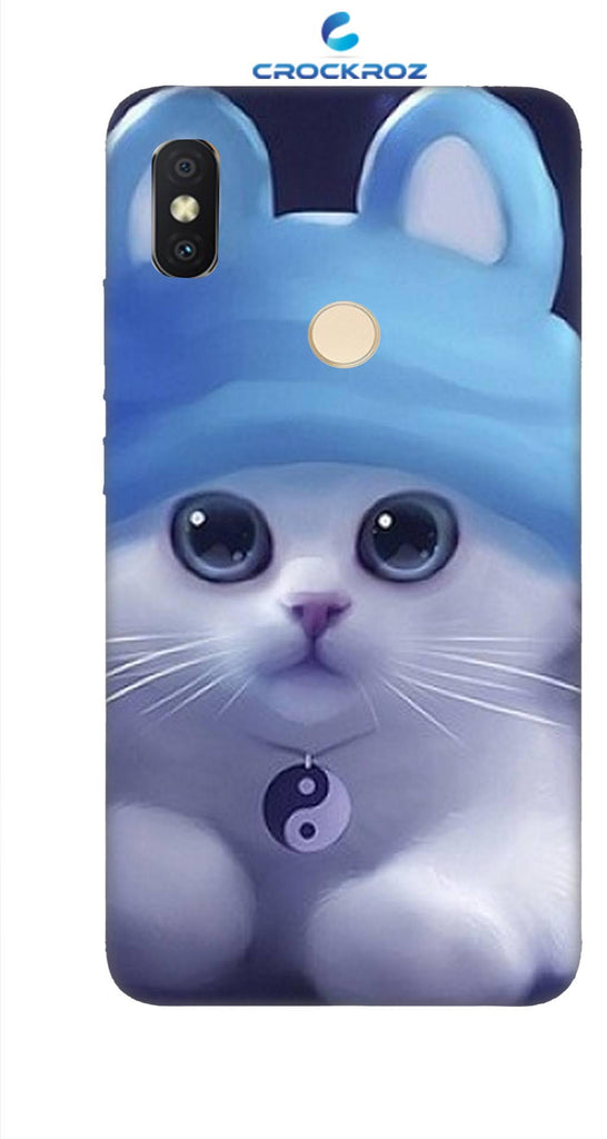 Redmi Y2 cutie  cats Designed Back Cover