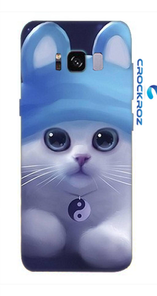 Samsung galaxy S8 cutie  cats Designed Back Cover