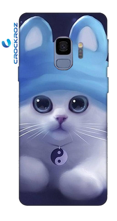 SAMSUNGS9 cutie  cats Designed Back Cover