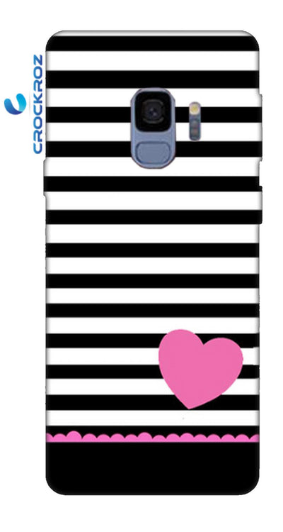 SAMSUNGS9 little hearts Designed Back Cover