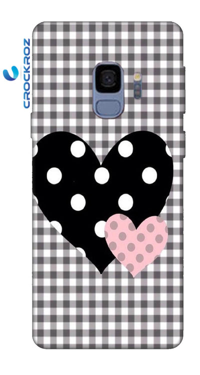 SAMSUNGS9 heart to heart Designed Back Cover