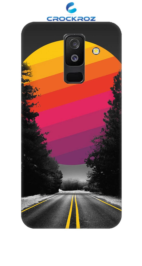 SAMSUNG A6 Plus Lonely roads Designed Back Cover