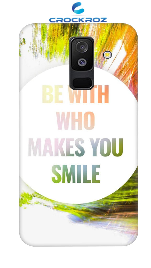 SAMSUNG A6 Plus Smile Designed Back Cover