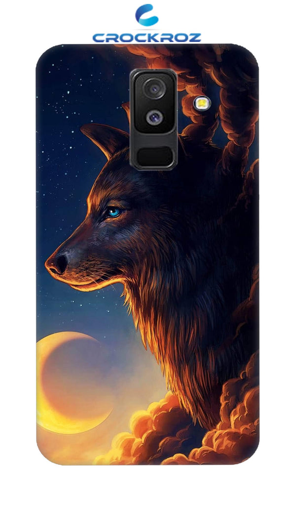 SAMSUNG A6 Plus Wolf Designed Back Cover