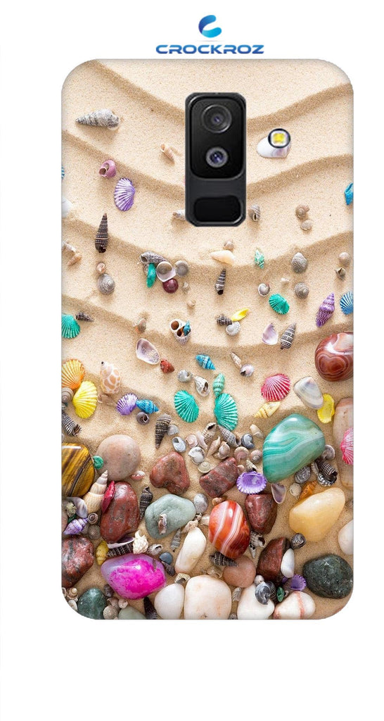 SAMSUNG A6 Plus Pebbles Designed Back Cover