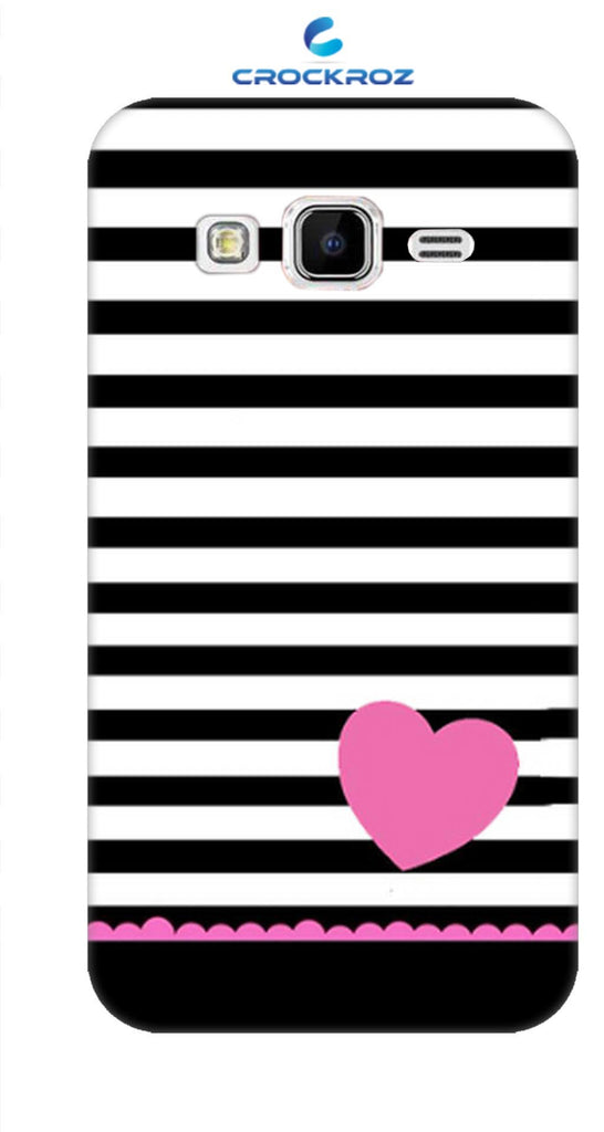 SAMSUNG J2-16  little hearts Designed Back Cover