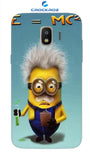 SAMSUNGJ2-18 minions Designed Back Cover