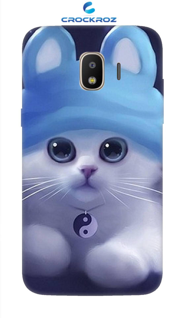 SAMSUNGJ2-18 cutie  cats Designed Back Cover