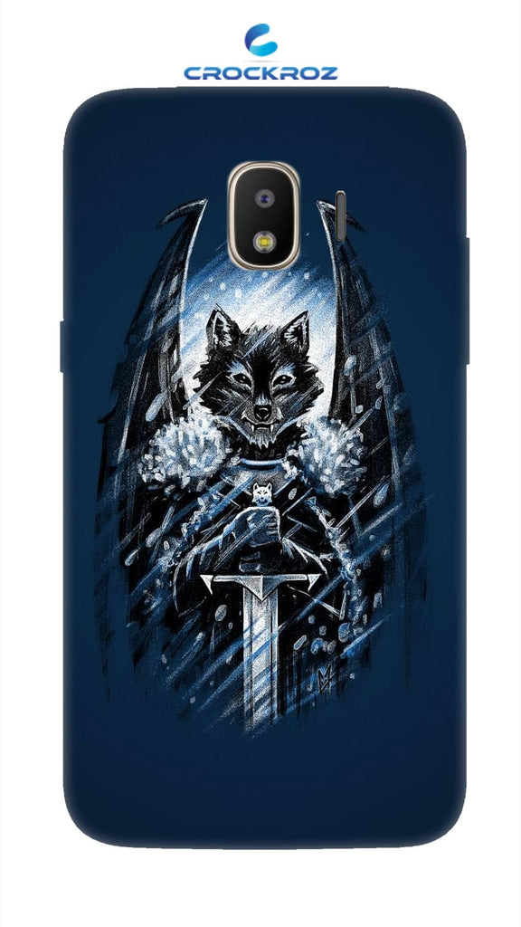 SAMSUNG J2-18 Foxy  crush Designed Back Cover