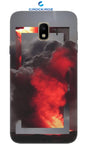 SAMSUNG J4 Fire smoke Designed Back Cover