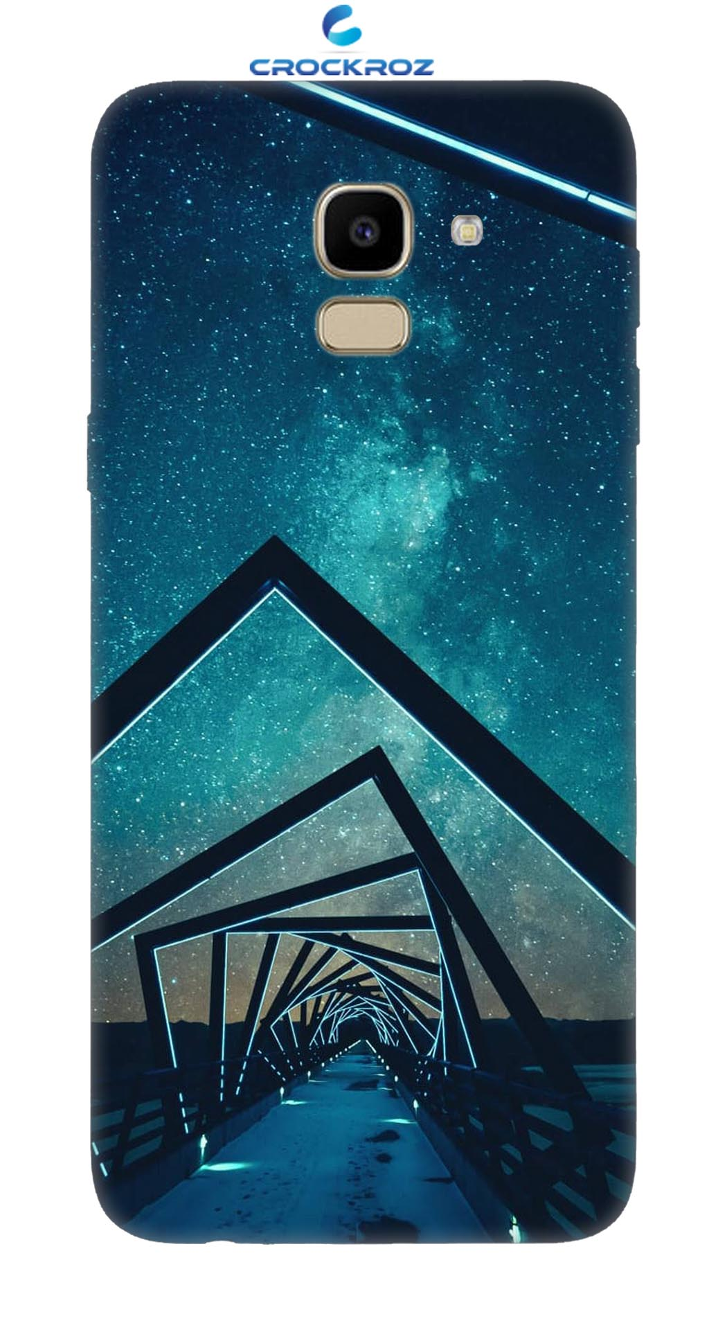 SAMSUNG J6  Night bridge Designed Back Cover