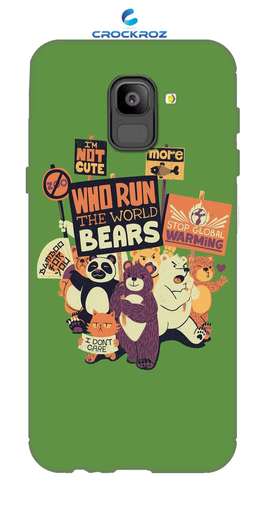 SAMSUNG On6 Beary Designed Back Cover