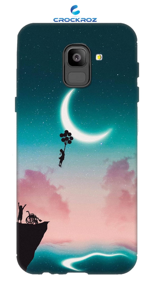 SAMSUNG On6  Moony dreams Designed Back Cover