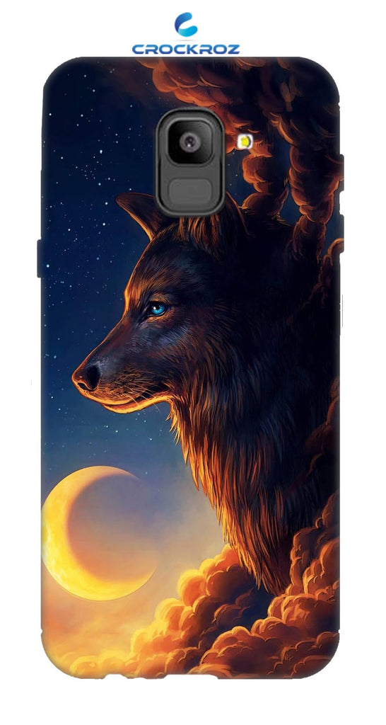 SAMSUNG On6 Wolf Designed Back Cover