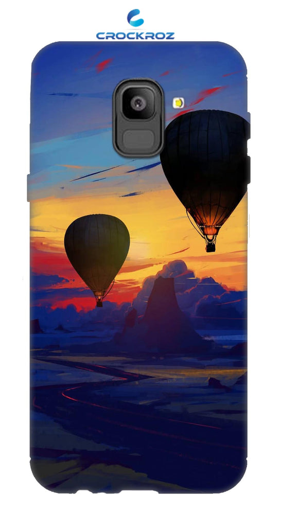 SAMSUNG On6 Parachute Designed Back Cover