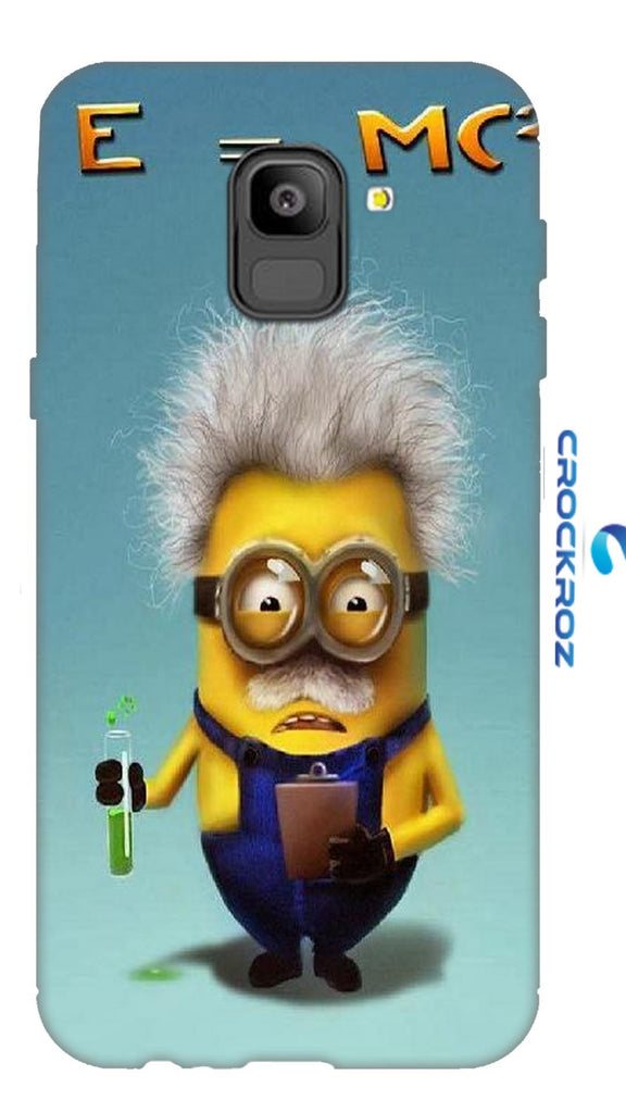SAMSUNG On6 minions Designed Back Cover