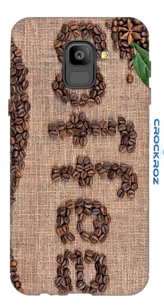 SAMSUNG On6 Coffe love Designed Back Cover