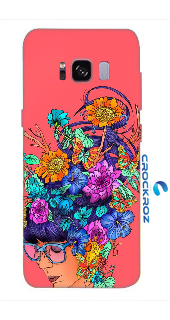 SAMSUNG S8  Blowing minds Designed Back Cover