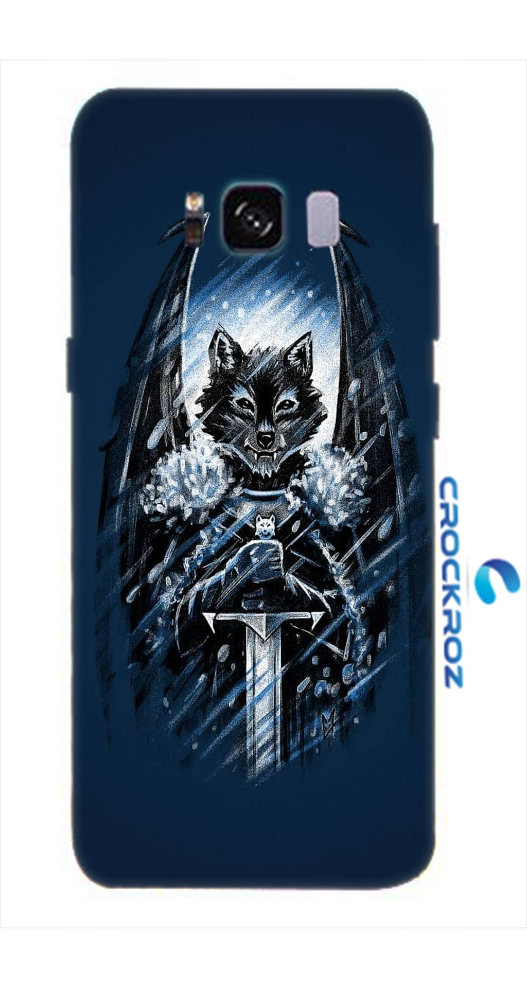 SAMSUNG S8  Foxy  crush Designed Back Cover