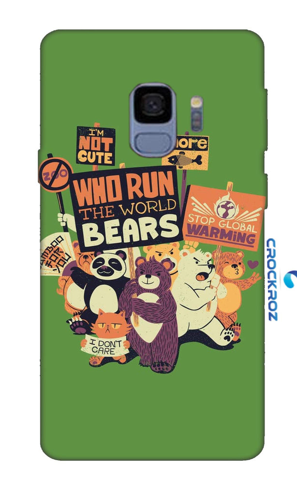 SAMSUNG S9  Beary Designed Back Cover