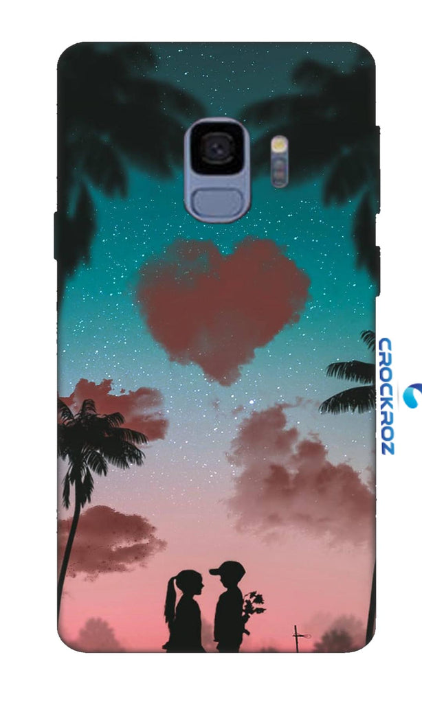 SAMSUNG S9 Friend cum love Designed Back Cover