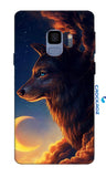 SAMSUNG S9 Wolf Designed Back Cover
